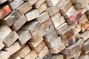 Lumber prices are raising the price of new starter homes.