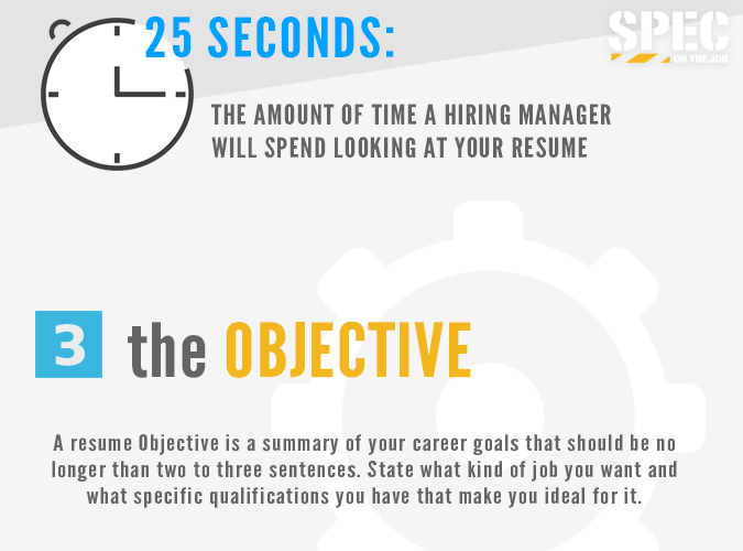 Resume Guide - Spec On The Job
